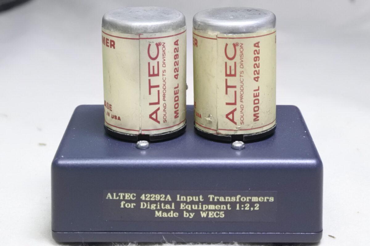 Altec 42292A Input Transformers ¥55,000