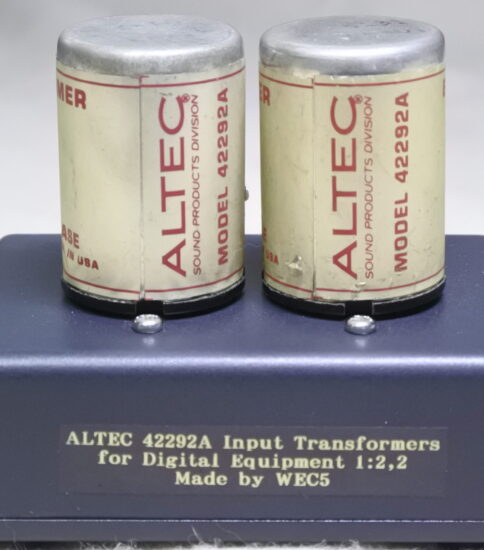Altec 42292A Input Transformers ¥55,000
