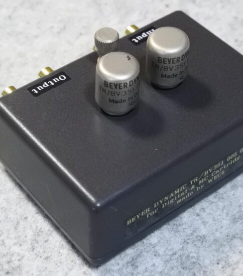 BEYER DYNANIC Input transformers 1:5 ¥88,000