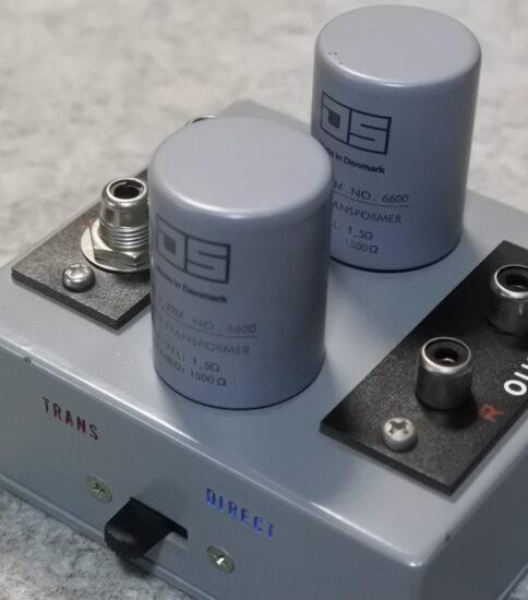 Ortofon STA-6600 Step up transformer ¥164,000