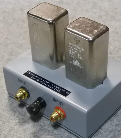 TRIAD G-3 Input transformes for MC 1:16 ¥88,000