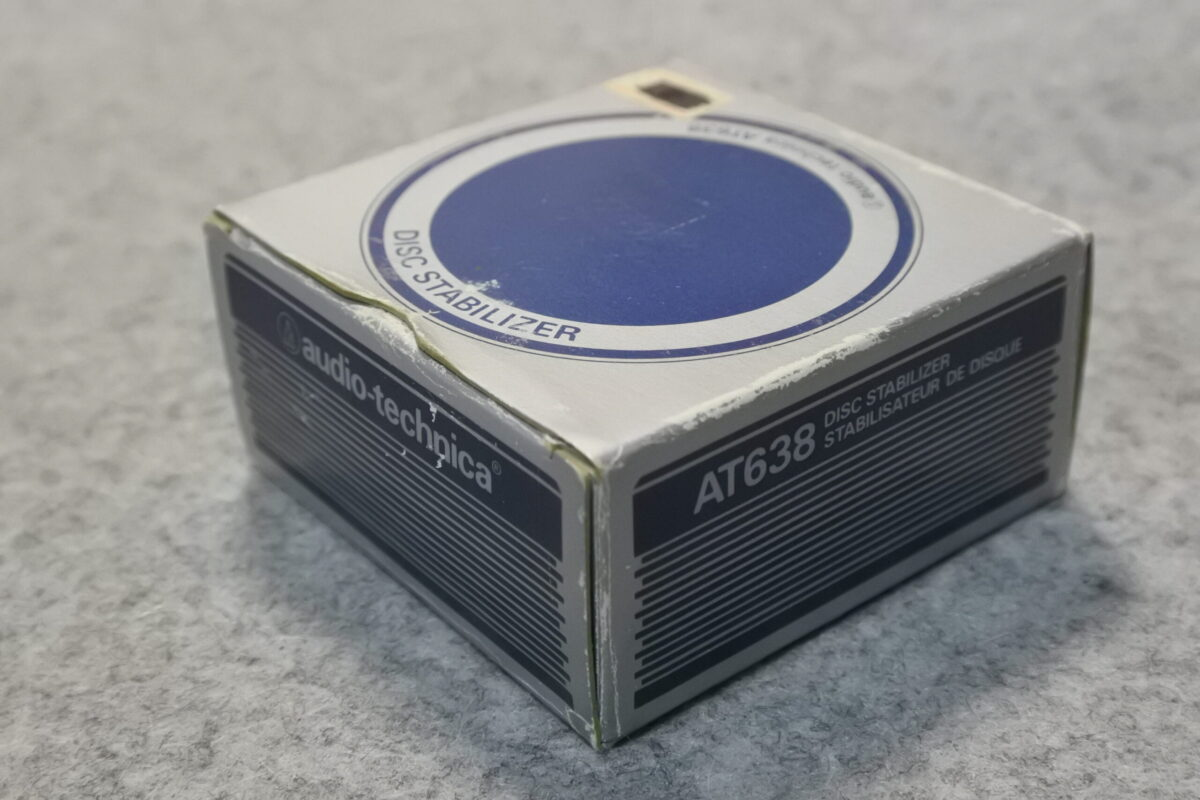 Audio-Technica AT-638 Disk Stabilizer ¥Sold out!!