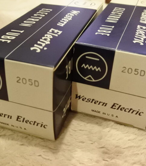 Western electric 205D tubes ¥Ask!!