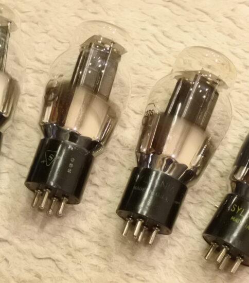 Sylvania 1276 tubes  ¥55,000/Each