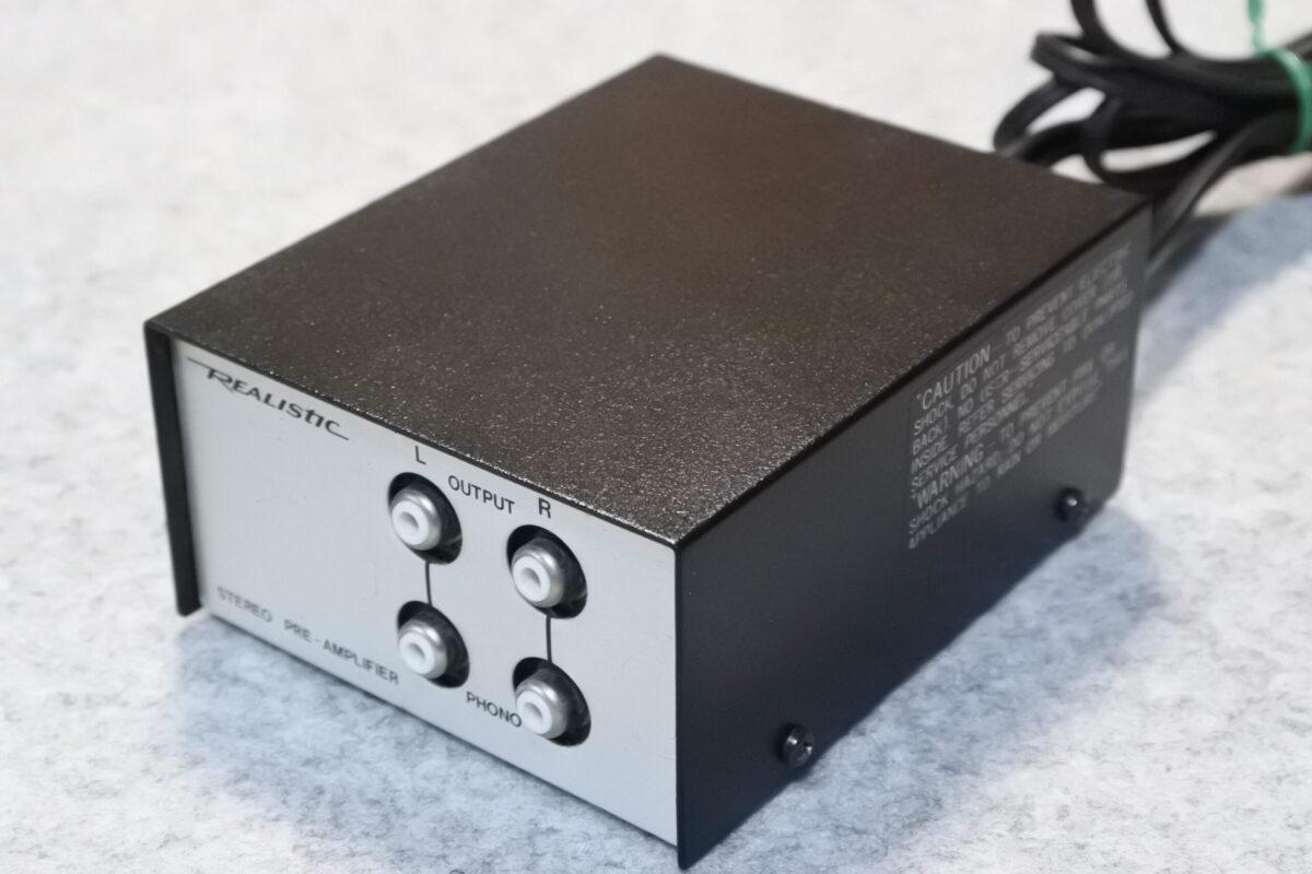 Realistic 42-2101A Stereo Riaa EQ amplifier  ¥33,000