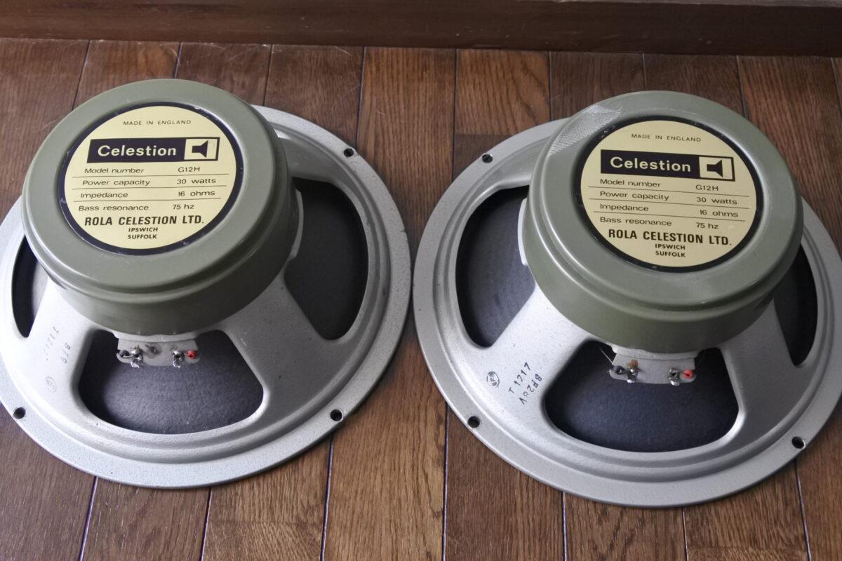 Celestion G-12H '73 Green Back   Vintage Speakers  ¥Ask!!