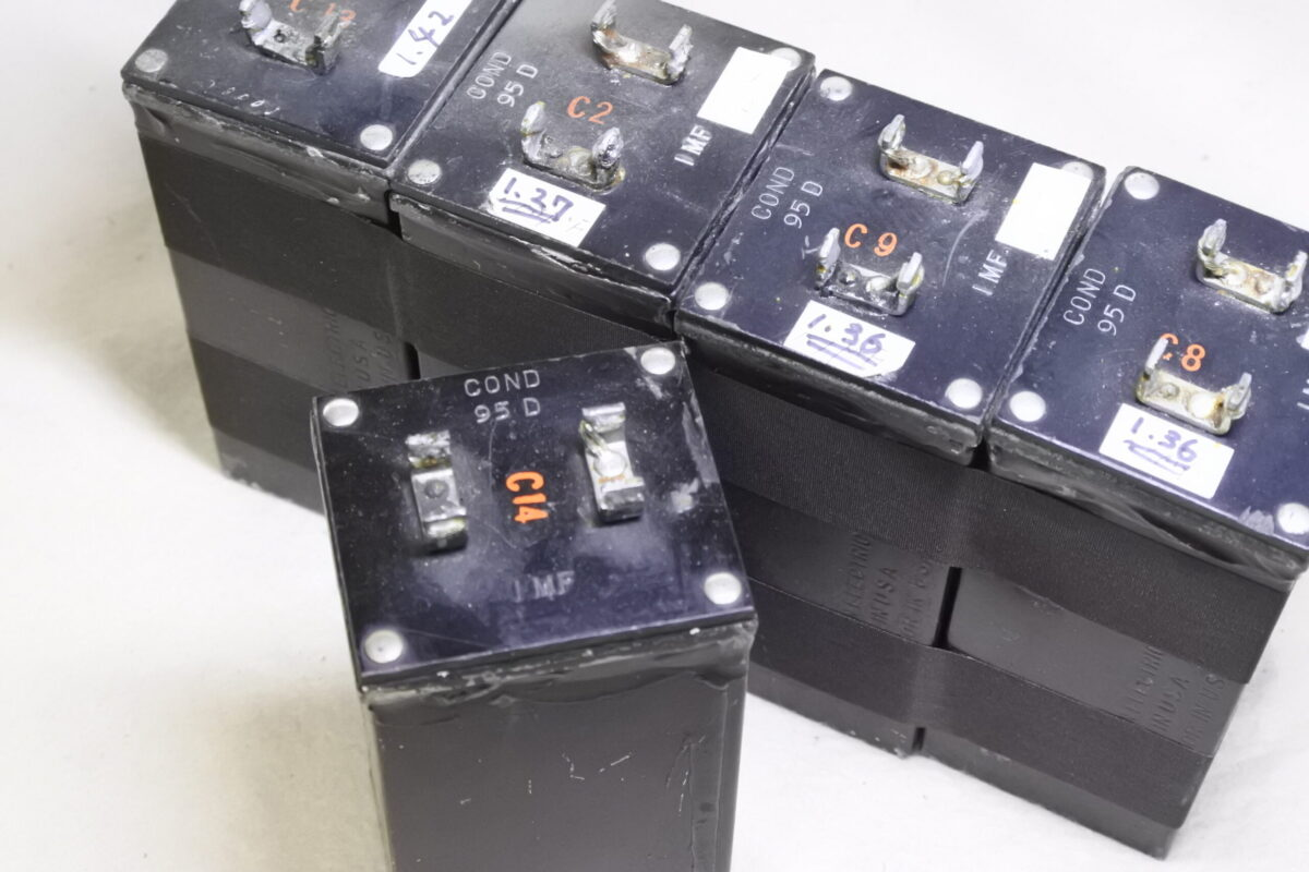 Western electric 95D Oil Caps  ¥55,000/Each