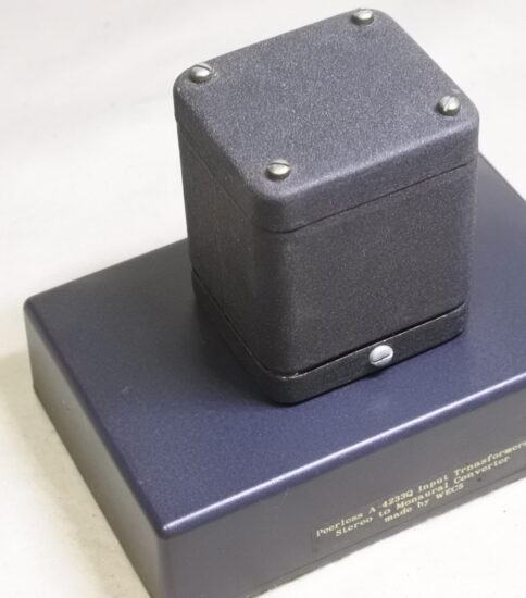 Peerless A-4233Q Stereo to Mono Converter ¥55,000