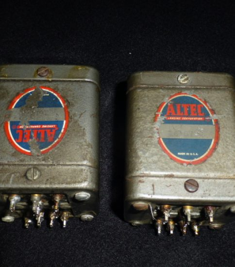 ALTEC 16187Q Input Transformers ¥220,000/Pair